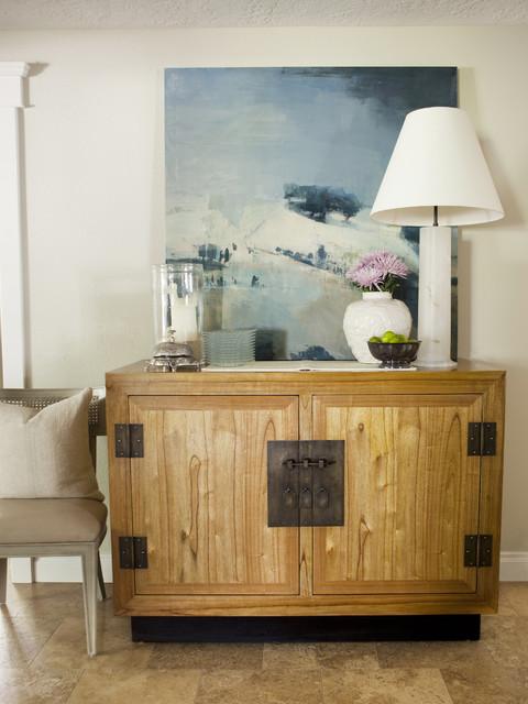 Bennett Residence transitional-dining-room