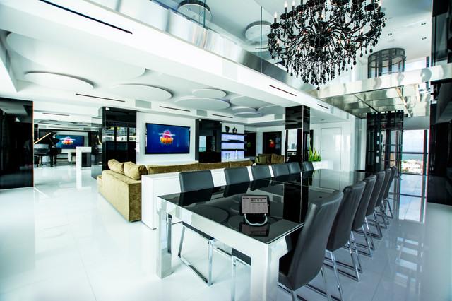 Bentley Bay Contemporary Dining Room Miami By