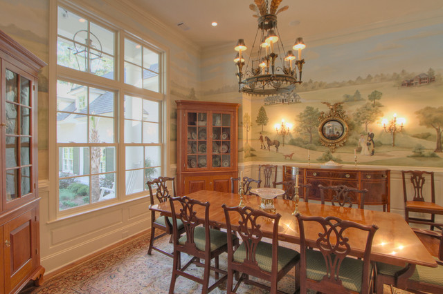 Berekely Hall traditional-dining-room