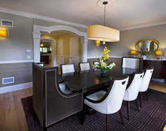 Bergen County Residents contemporary-dining-room