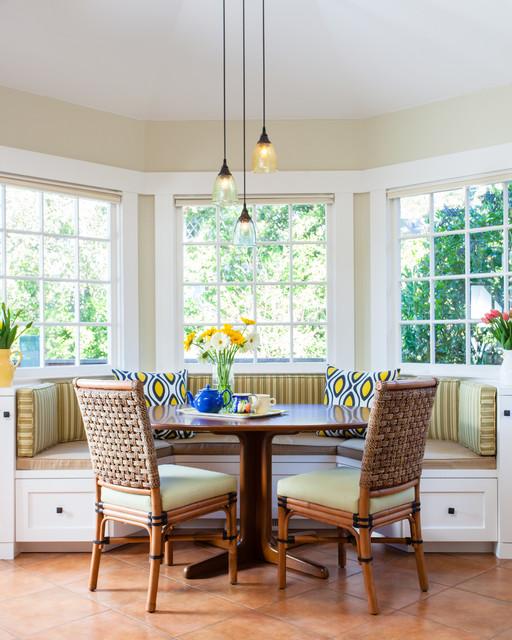 Berkeley Brown Shingle traditional-dining-room
