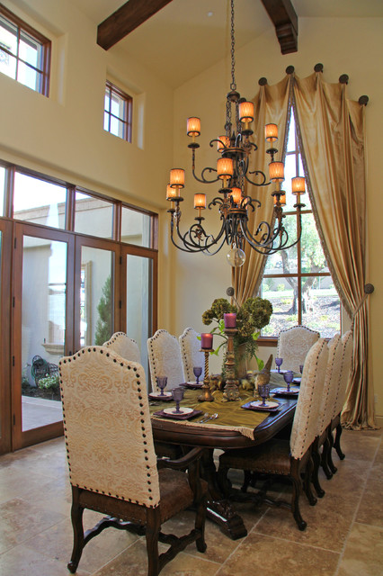 Berkwood Residential  Mediterranean  Dining Room  Sacramento  by Murray Duncan Architects Inc.