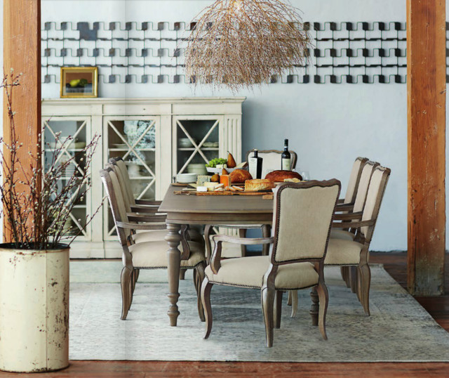 Bernhardt Auberge Collection Transitional Dining