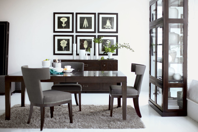 Bernhardt Vendors Contemporary Dining Room Charlotte by – Bernhardt Dining Room Furniture