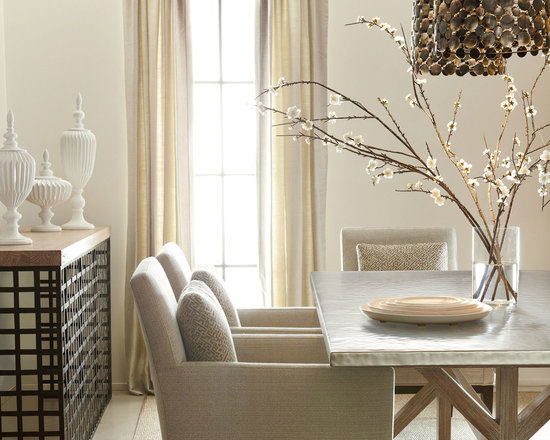 Bernhardt (Vendors) - Bernhardt Furniture: Quentin Dining Table, Ridley Chairs and Calypso Console
