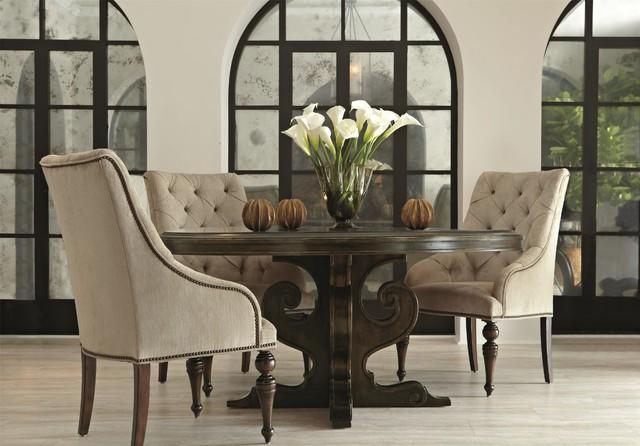 Bernhardt Villa Medici Round Dining Table - Traditional ...