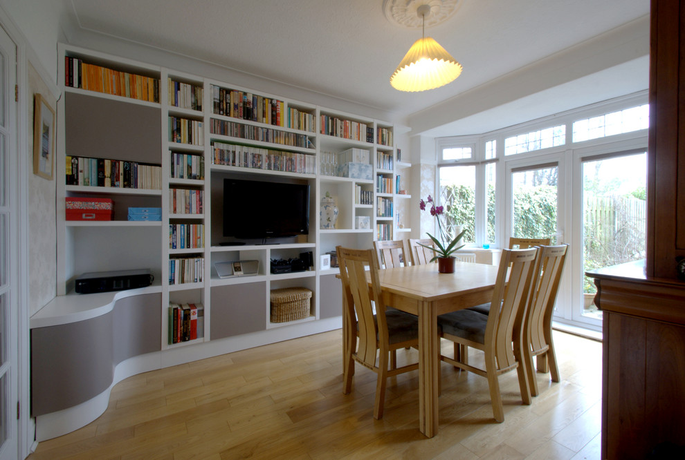 Bespoke Dining Room Shelving