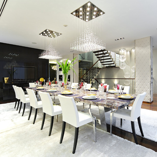 Bespoke Interior Design Contemporary Dining Room