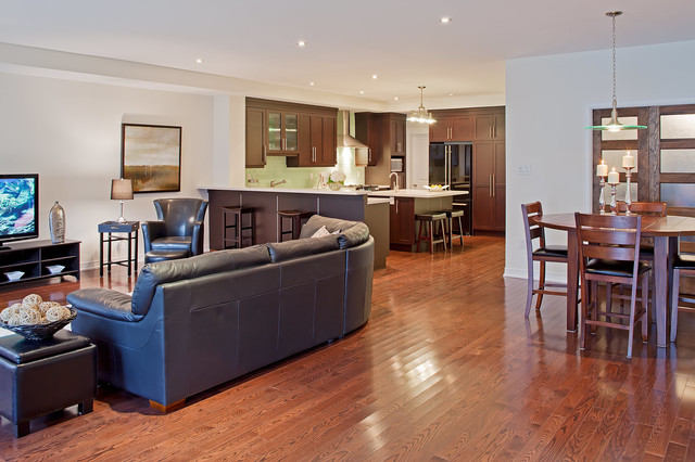 Best renovation in ontario ohba over 500k in 2010 for Best transitional dining rooms