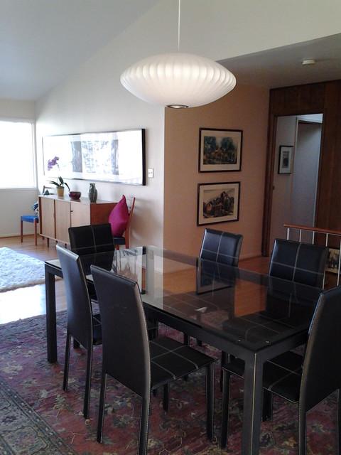 Bethesa mid-century home modern-dining-room