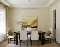 Bethesda contemporary dining room