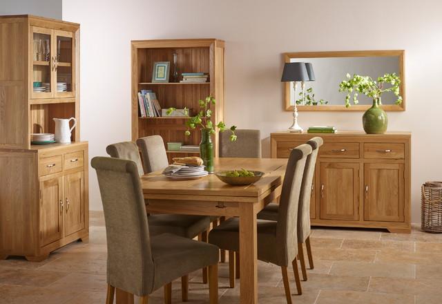 Bevel   Natural Solid Oak Dining Room transitional dining room. Bevel   Natural Solid Oak Dining Room   Transitional   Dining Room