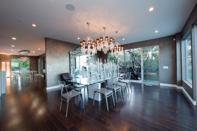 Beverly Hills Private Residence Contemporary Dining