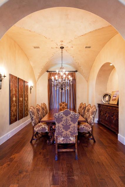 Big View Home mediterranean-dining-room