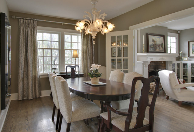 traditional dining room by Bilton Design Group