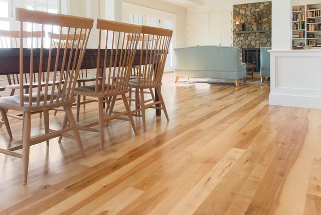 Birch Wood Floors Traditional Dining Room Boston