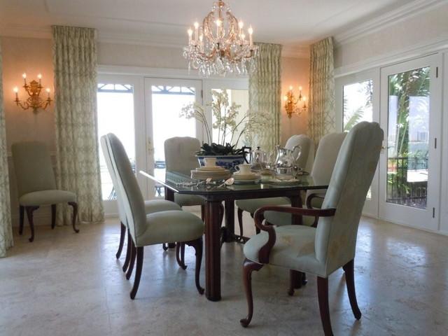 Bird Key Remodel traditional-dining-room