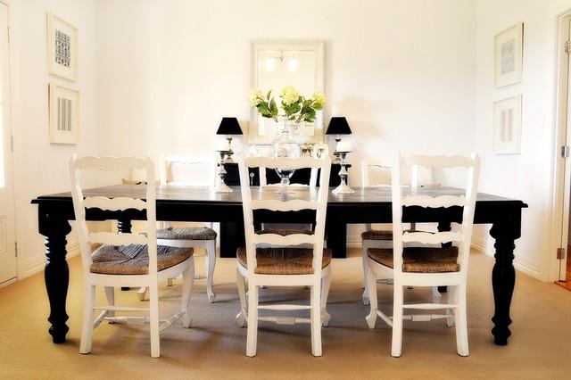 Black & White Dining dining-room