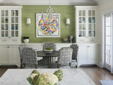 transitional dining room Your Dining Style: 9 Strategies for Eat In Kitchens (16 photos)