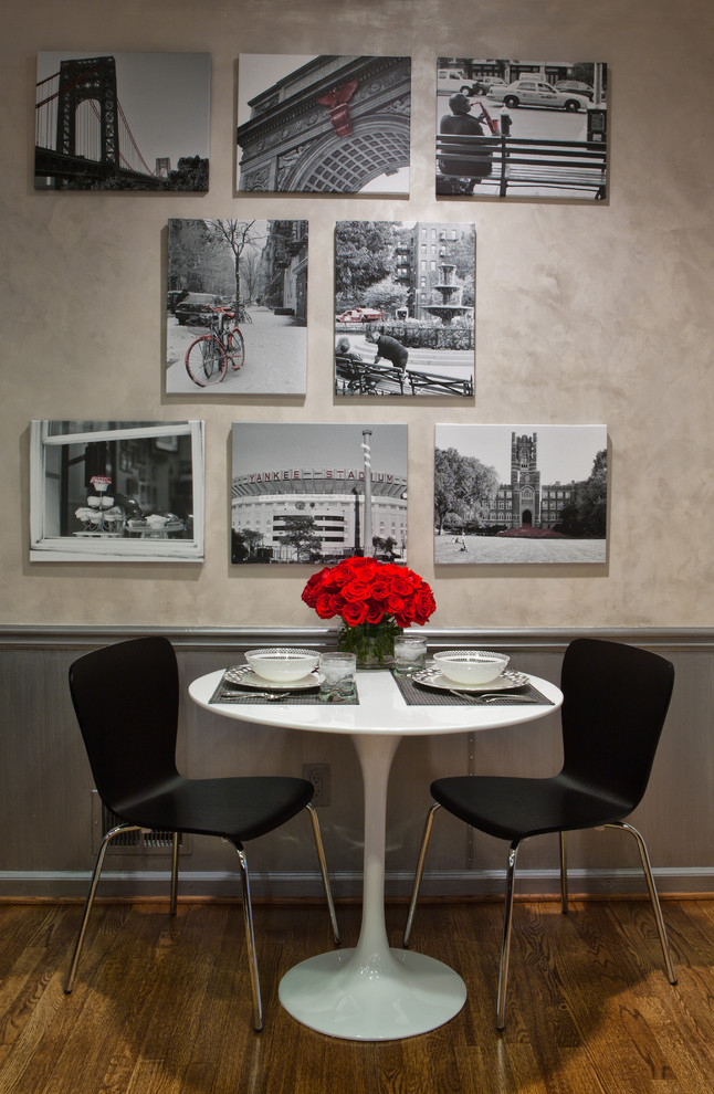 Black White Red Kitchen Eclectic Dining Room Atlanta By Highland Design Gallery Houzz