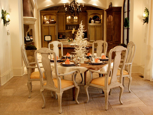 Updating or staying the same for Updating a traditional dining room