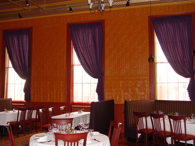 Blue Heron restaurant eclectic-dining-room