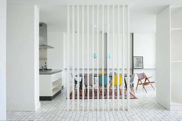 9 soluzioni originali per separare la cucina dal soggiorno for Soluzioni per soggiorno