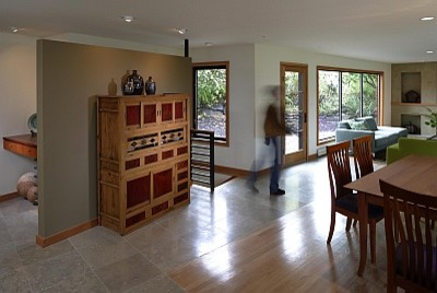 Blue Ridge Lookout contemporary-dining-room