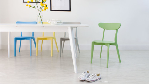 Blue, Yellow, Grey & Green Senn Dining Chairs