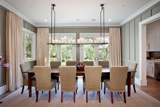 Boca De Canon House - Traditional - Dining Room - Los Angeles - by White Picket Fence, Inc