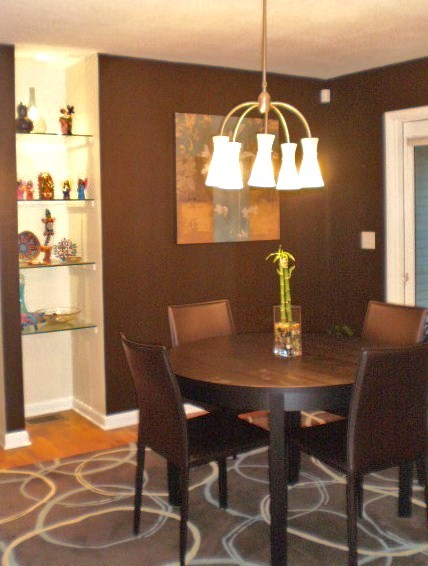 Bold color traditional dining room other metro by for Bold dining room colors