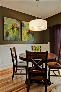 Bold Dining Room Contemporary Dining Room Boise By
