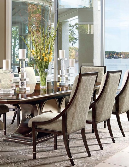 bolero collection transitional dining room los angeles by
