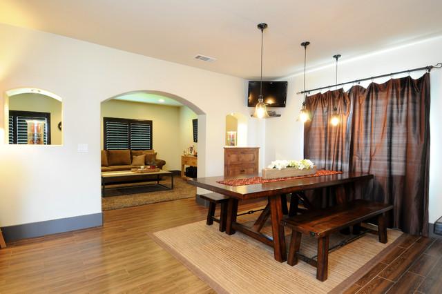 Bonita Renovation rustic-dining-room