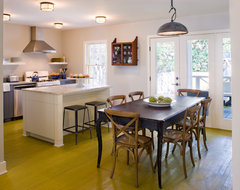 Bonnie Road Residence transitional-dining-room