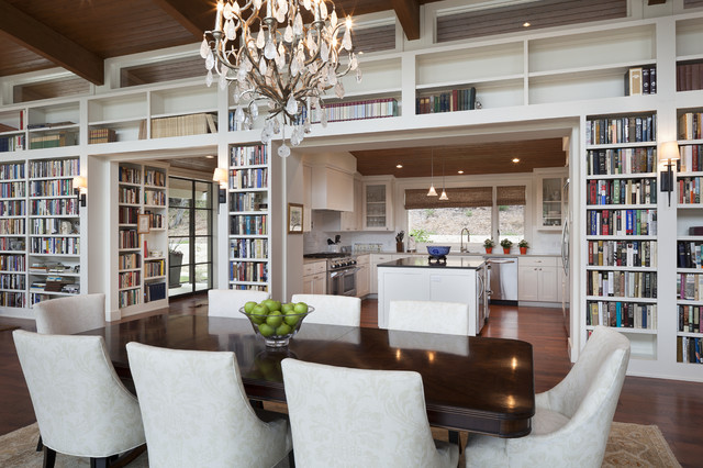 Bookhouse Residence traditional-dining-room