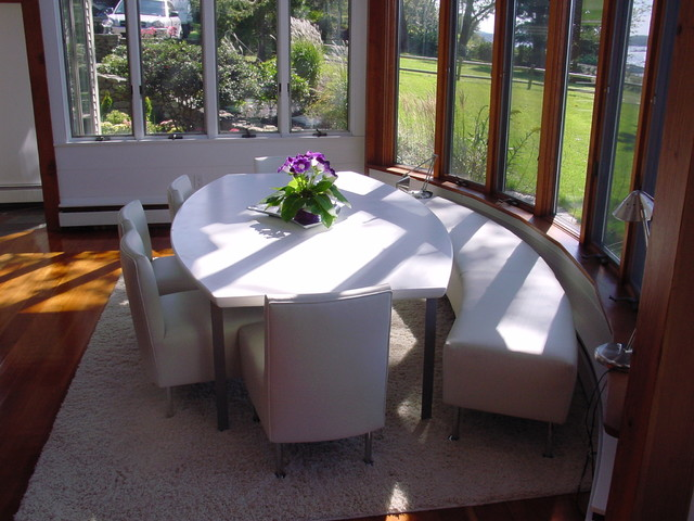 Booths And Banquettes Modern Dining Room Boston By