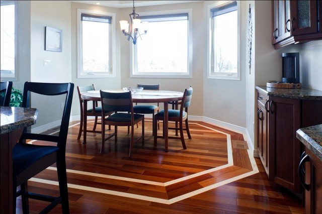Dining Rooms With Hardwood Floors ...