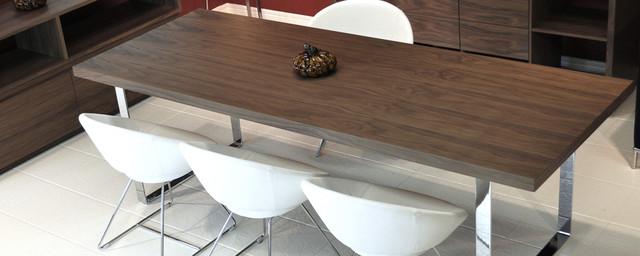 Walnut dining room