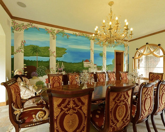 Italian dining room sets design ideas pictures remodel for Italian dining room decorating ideas