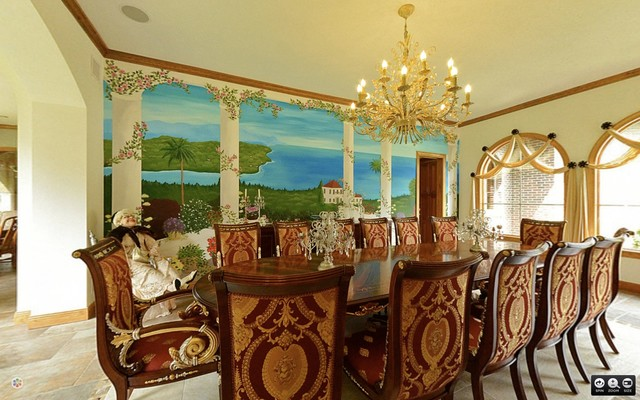 Perfect Boston Area Italian Dining Room Mediterranean Dining Room