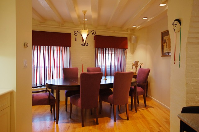 Boston condo eclectic dining room boston by leslie for Dining room questionnaire