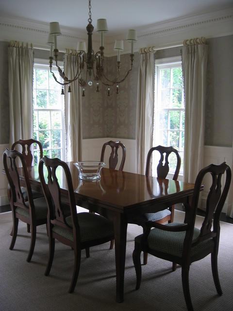 Boston Suburb traditional-dining-room