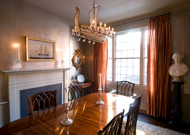 Boston Townhouse traditional-dining-room