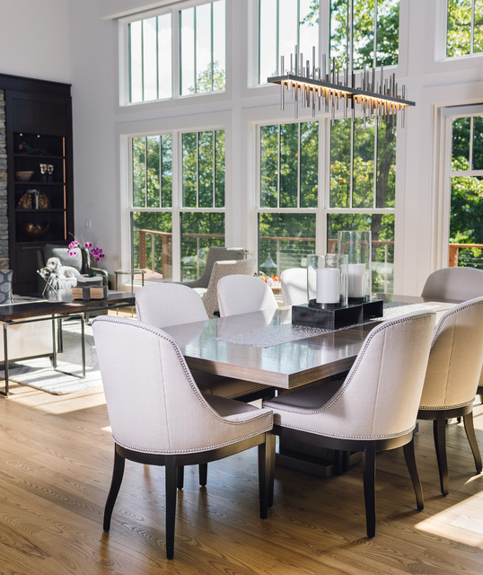 Boulder Creek Way Residence Dining Room Contemporary Dining Room Other By Allard