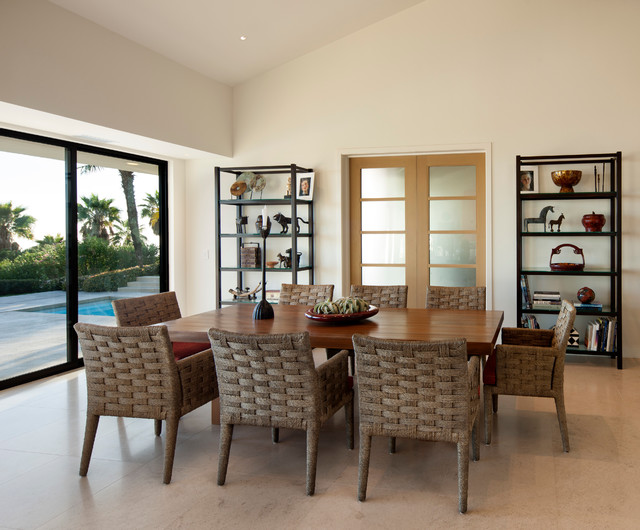 Braemar ranch remodel contemporary dining room santa for Dining room 56 willoughby street