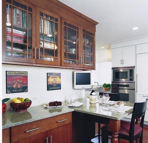 Breakfast area transitional-dining-room