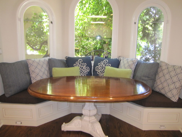 Breakfast Nook Cushions Traditional Dining Room