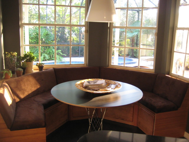 contemporary dining room by Maureen McCluskey