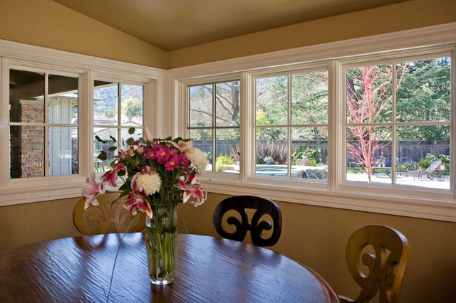 Breakfast Nook With Corner Marvin Windows Bay Area